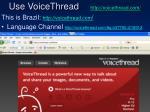 use voicethread http voicethread com