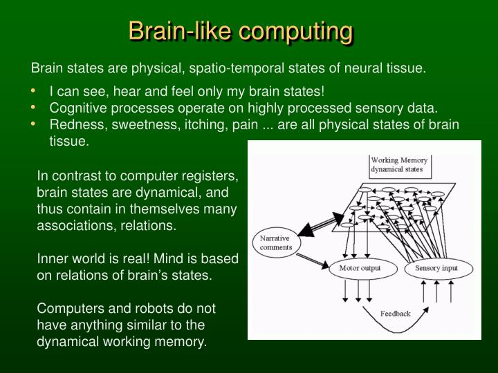 Brain-like computing