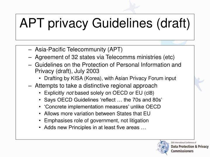 Asia-Pacific Telecommunity (APT)