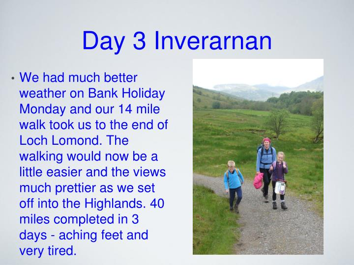 Day 3 Inverarnan