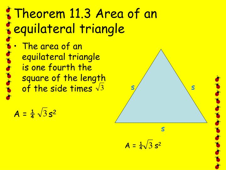 PPT - 11.2 Areas of Regular Polygons PowerPoint ...