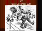 1905 russo japanese war