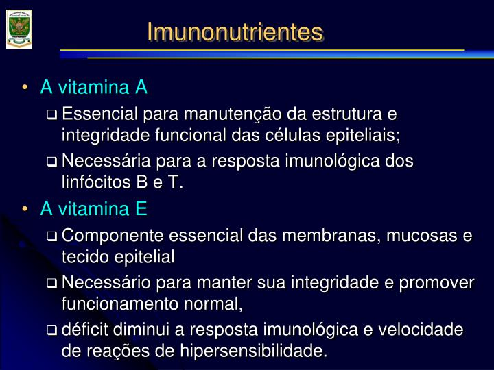 Imunonutrientes