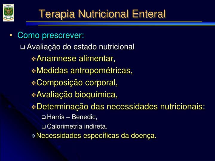 Terapia nutricional enteral1