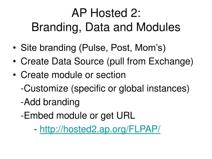 AP Hosted 2: