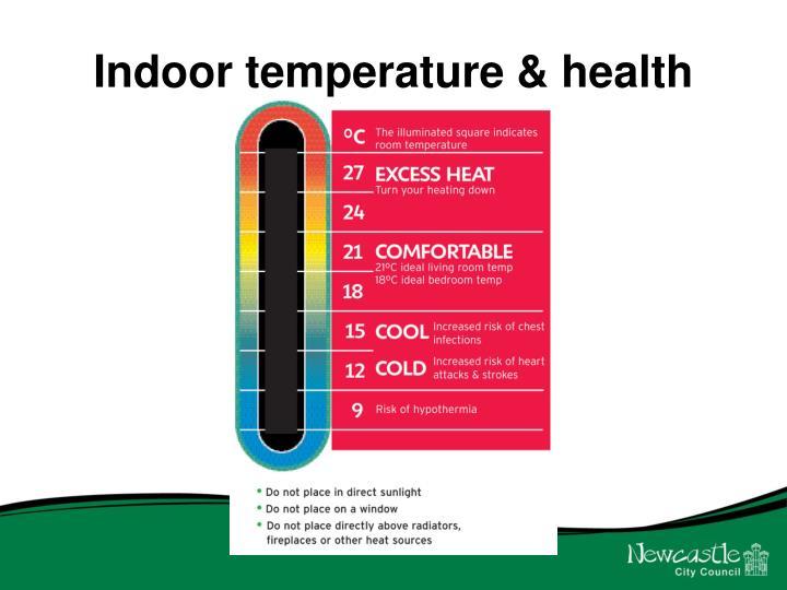 Indoor temperature & health
