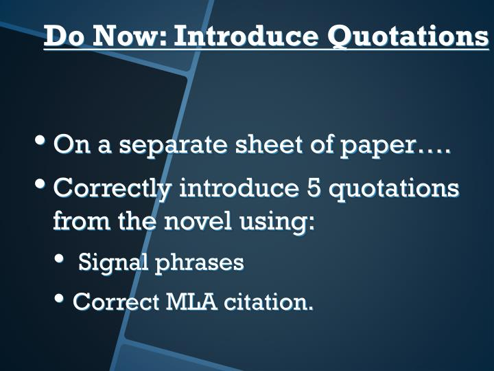 On a separate sheet of paper….