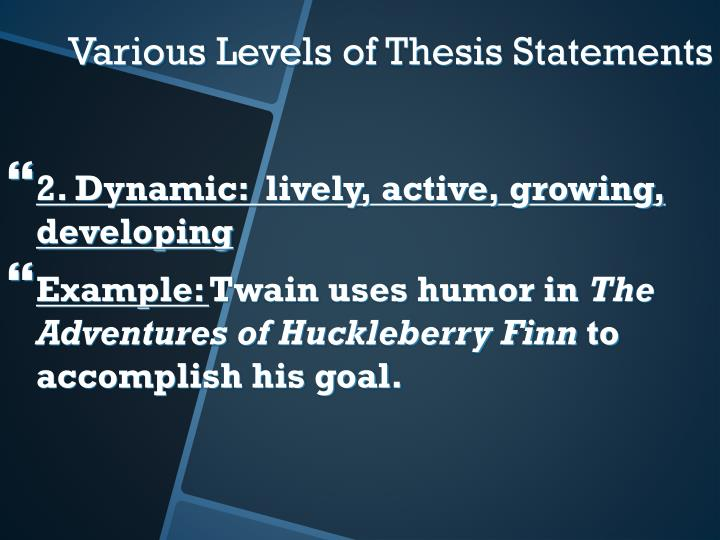 2. Dynamic:  lively, active, growing, developing