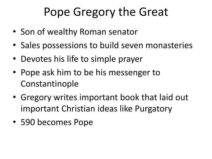 pope gregory the great n.
