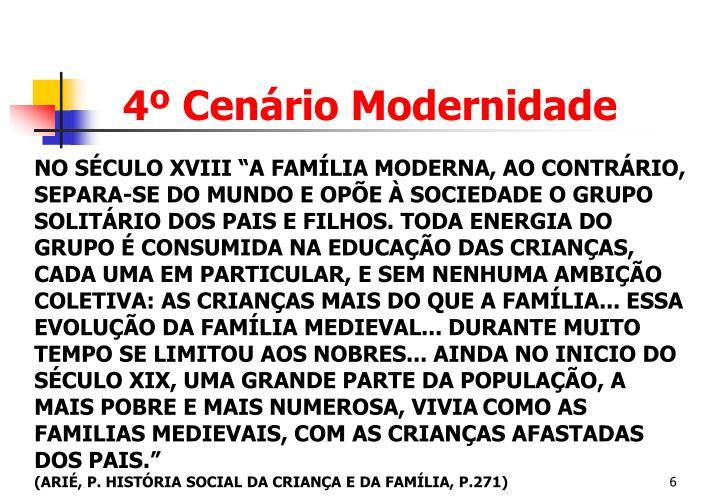 4º Cenário Modernidade