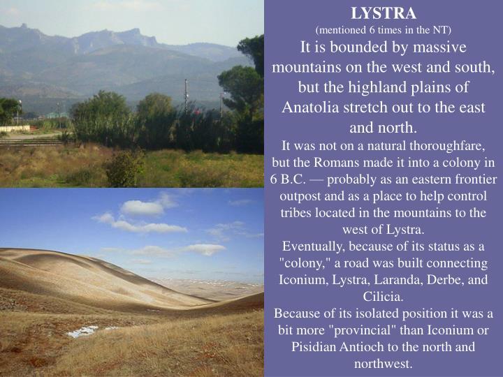 LYSTRA