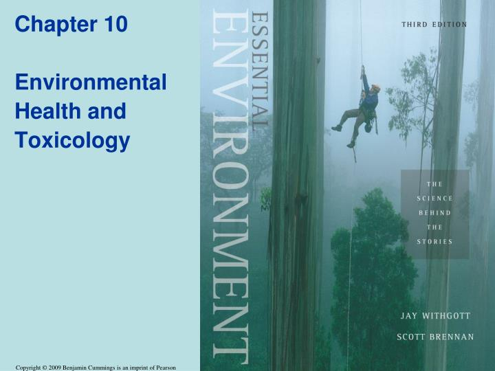 chapter 10 environmental health and toxicology n.