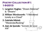 poetry collection 1 1 9 2013
