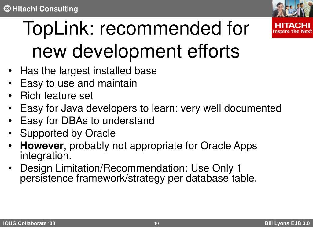 PPT - EJB 3 0 Java Persistence API (JPA) with Oracle TopLink