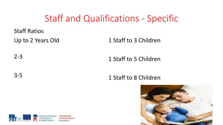 Staff and Qualifications - Specific