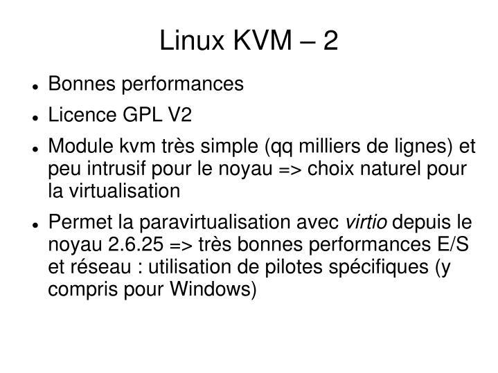 Linux KVM – 2