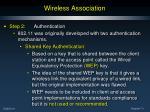 wireless association5