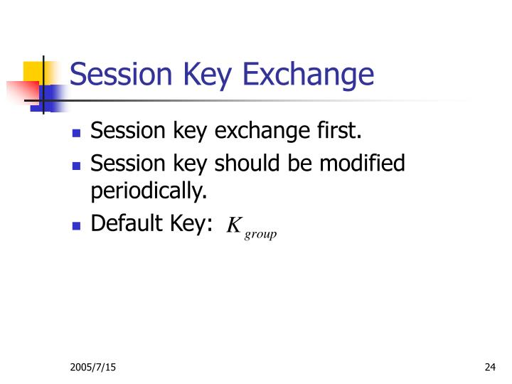 Session Key Exchange