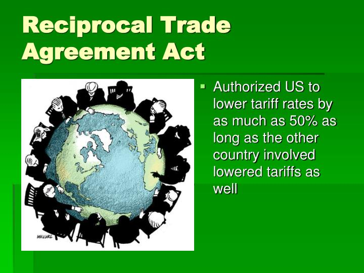 Reciprocal Trade Agreements Act Gallery Agreement Letter Format