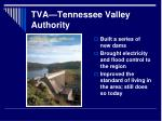 tva tennessee valley authority