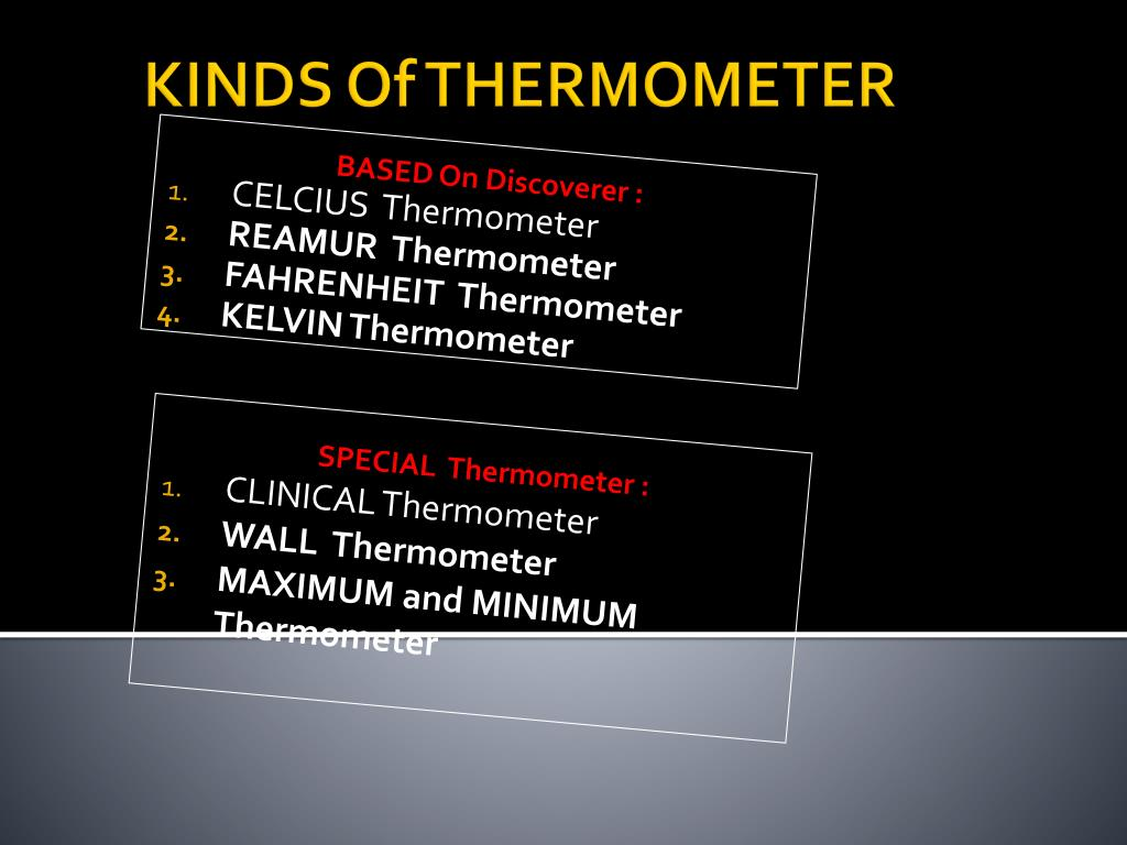 PPT - PHYSICS THERMOMETER PowerPoint Presentation - ID:5424246