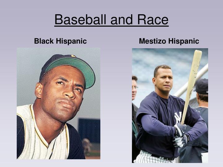 Baseball and Race