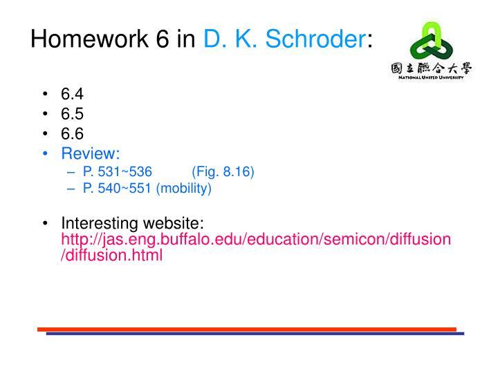 Homework 6 in