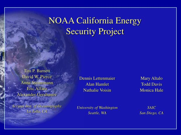 noaa california energy security project n.