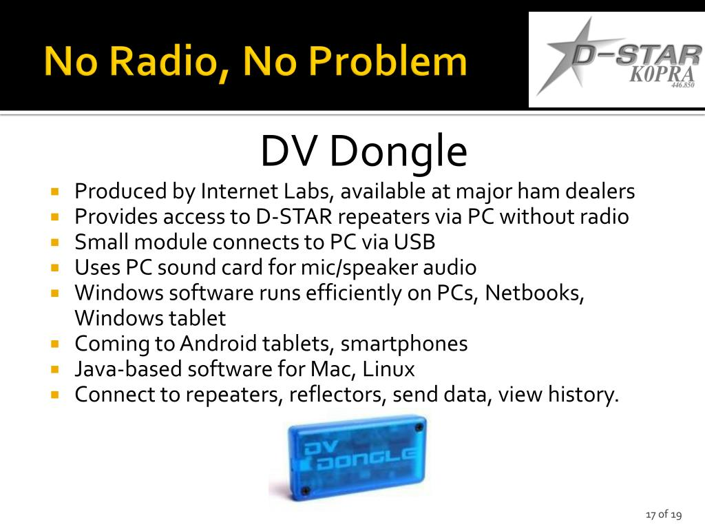 PPT - Intro to D-STAR 2014 Part 1 – Introduction PowerPoint