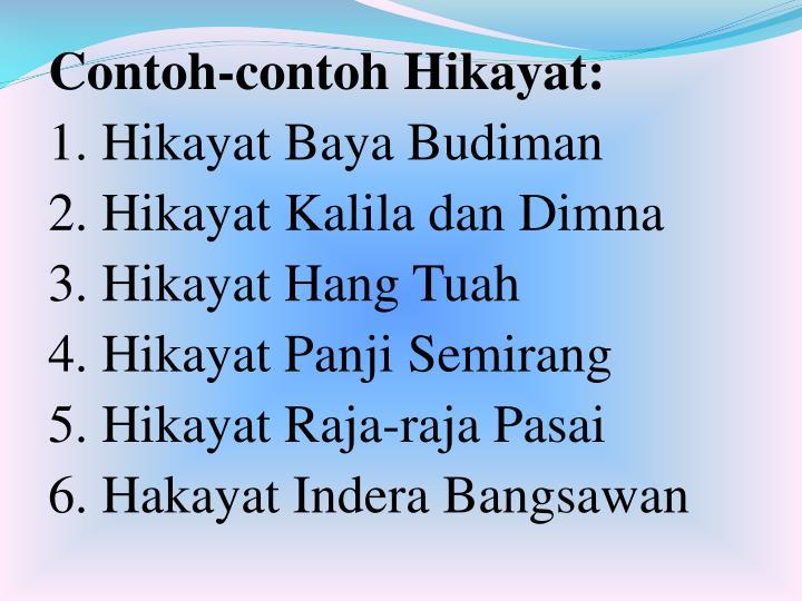 Ppt Hikayat Powerpoint Presentation Id 5424756