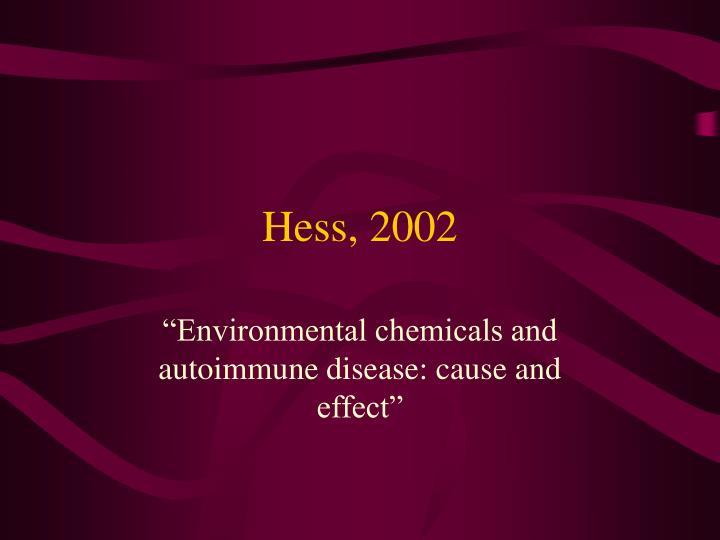 Hess, 2002