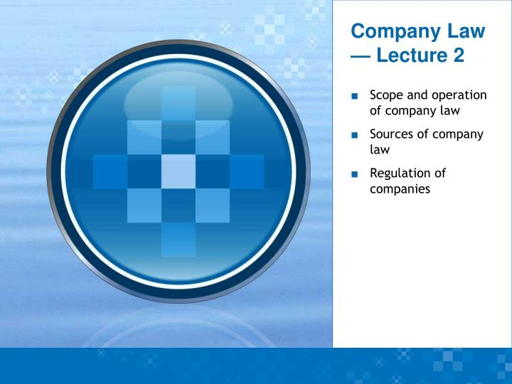 company law lecture 2 n.