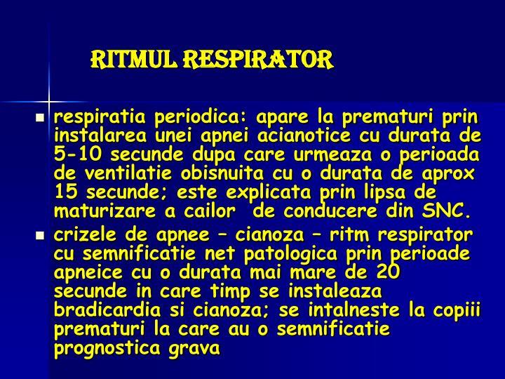 Ritmul respirator