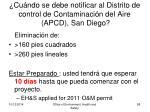 cu ndo se debe notificar al distrito de control de contaminaci n del aire apcd san diego1