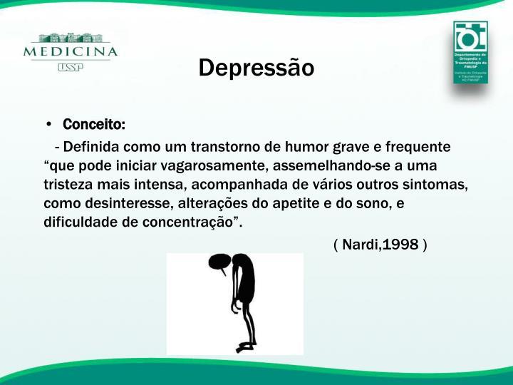 Depress o