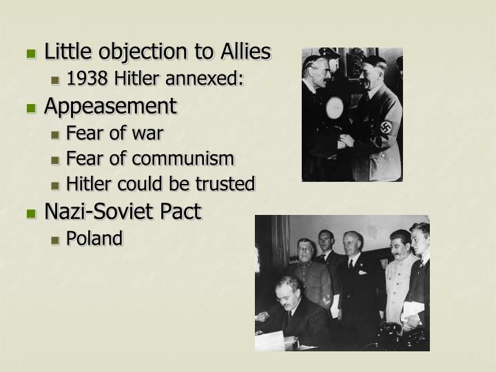 Little objection to Allies
