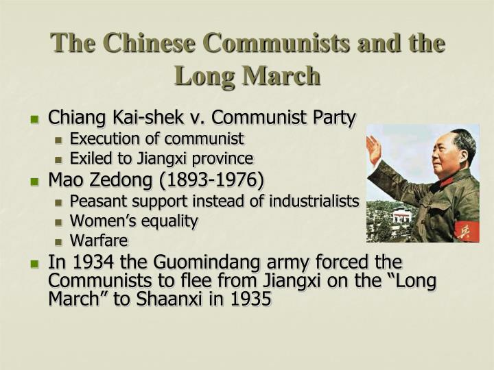 The Chinese Communists and the Long March