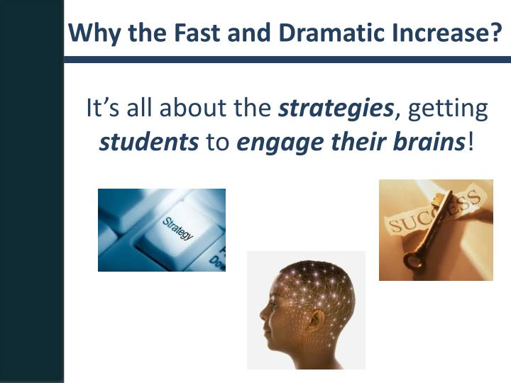 Why the Fast and Dramatic Increase?