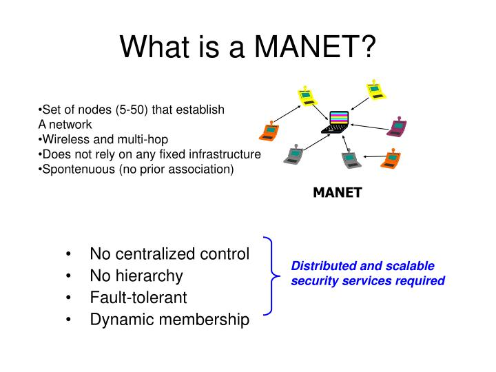 Distributed and scalable security services required