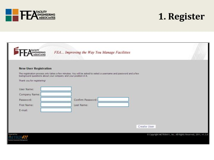 1. Register