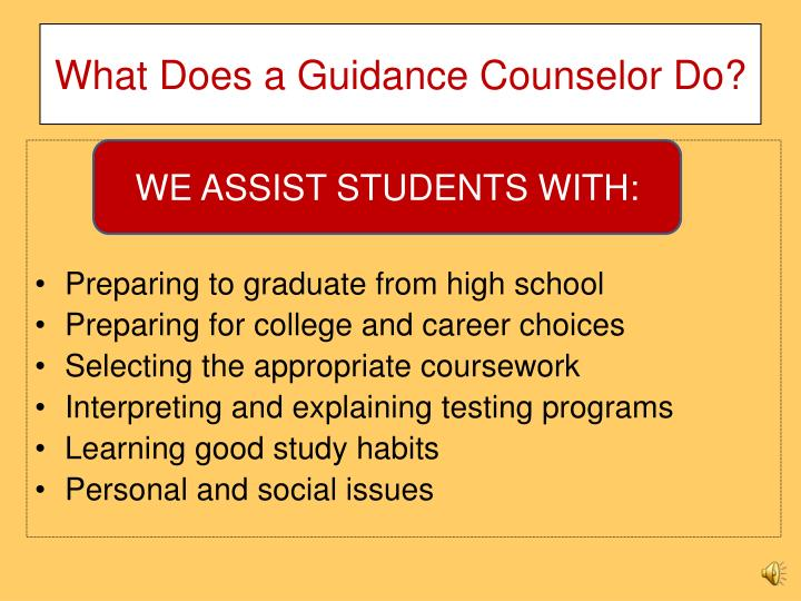 What Does a Guidance Counselor Do?