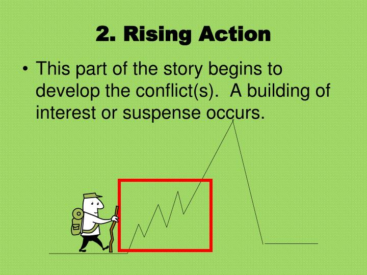 2. Rising Action