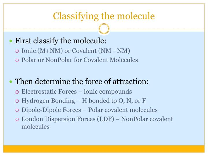 Ppt Intermolecular Forces Powerpoint Presentation Id5426376. Intermolecular Forces Worksheet Classifying The Molecule. Worksheet. Intermolecular Forces Worksheet Ap Chemistry At Mspartners.co
