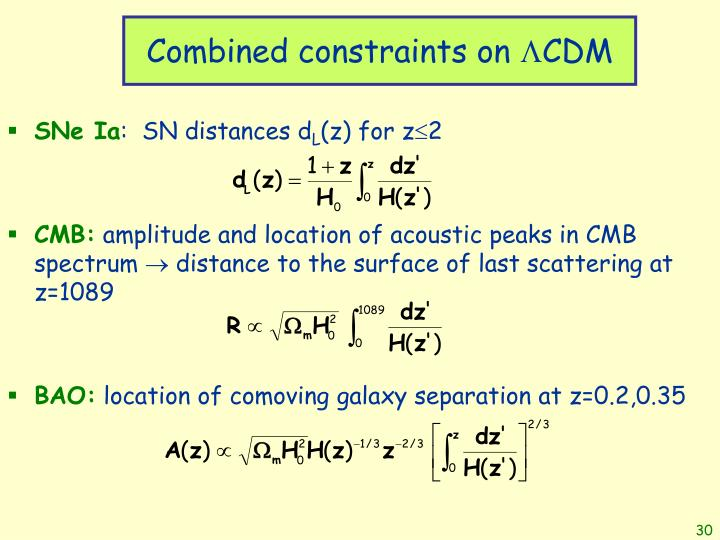 Combined constraints on