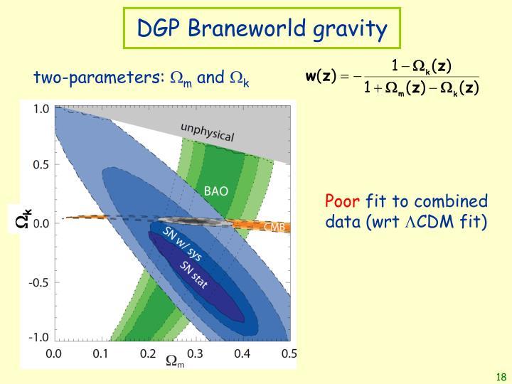 DGP Braneworld gravity
