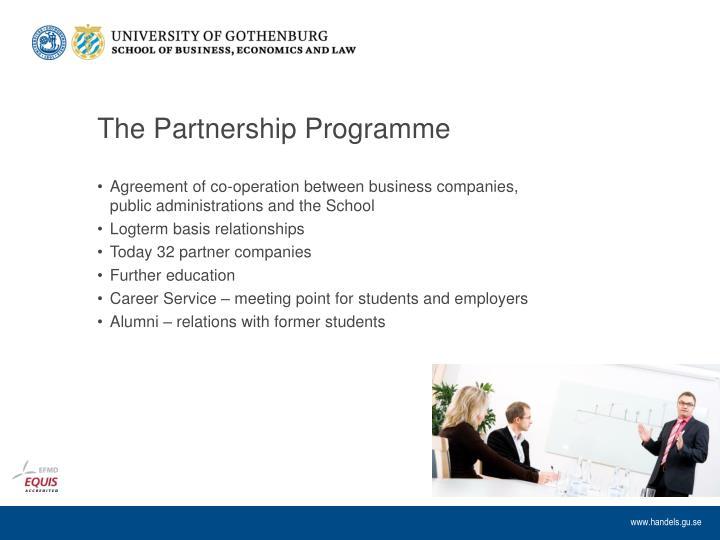 The Partnership Programme