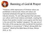 banning of god prayer3