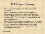 ip address classes