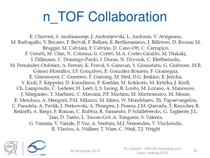 n_TOF Collaboration