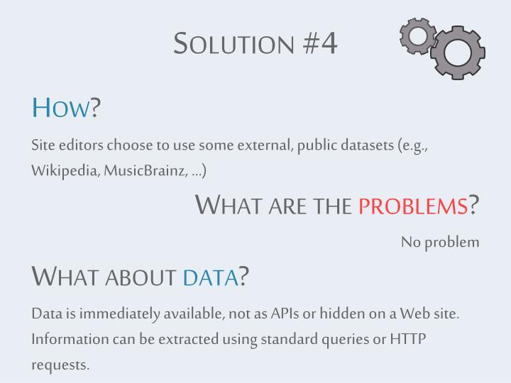 Solution #4
